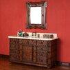 "James Martin Furniture Regent 60"" Single Vanity Set with Stone Top"