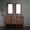 """James Martin Furniture Tacoma 60"""" Double Vanity Set with Wood Top"""