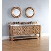 "James Martin Furniture Malibu 72"" Double Bathroom Vanity Set"