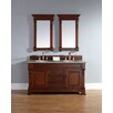 "James Martin Furniture Brookfield 60"" Double Cabinet Vanity Base"