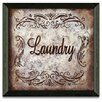 Timeless Frames Laundry by Michele Deaton Framed Graphic Art