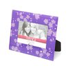 <strong>Timeless Frames</strong> Trendz Floral Glass Tabletop Photo Frame