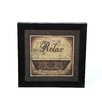 <strong>Timeless Frames</strong> Relax by Michele Deaton Framed Graphic Art