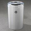 Glaro, Inc. RecyclePro Dual Stream 33 Gallon Multi Compartment Recycling Bin