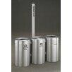 Glaro, Inc. RecyclePro Value Series Triple Unit 123 Gallon Multi Compartment Recycling Bin