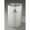 Glaro, Inc. RecyclePro Single Stream Open Top 39 Gallon Industrial Recycling Bin