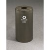 Glaro, Inc. RecyclePro Value Series Single Stream 15 Gallon Industrial Recycling Bin