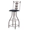 "<strong>Grace Collection</strong> Tall Grapes 36"" Swivel Bar Stool"