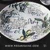 """Rosanna Olive Oil 13"""" Serving Bowl"""