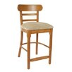 "Beechwood Mountain LLC Luci 24"" Bar Stool with Cushion (Set of 2)"