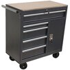 "<strong>36"" Wide 5 Drawer Roll Away Tool Cabinet</strong> by WEN"
