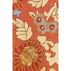 <strong>Indo Floral Rust Rug</strong> by Herat Oriental