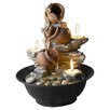 <strong>Tavolo Luci Mini Pot Tabletop Fountain with Candle</strong> by Fountain Cellar