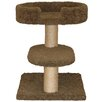 "Family Cat 23"" Two Tier Cat Tree with Lounger"