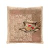 Heritage Lace Downton Tea Postmark Pillow Cover