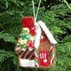 Mills Floral Felt Gingerbread Cottage (Set of 3)