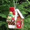 <strong>Felt Gingerbread Cottage</strong> by Mills Floral