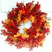 Mills Floral Autumn Berry Wreath