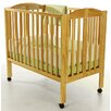<strong>Portable Folding Convertible Crib</strong> by Dream On Me
