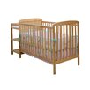 <strong>2-in-1 Convertible Crib Set and Changing Table Combo</strong> by Dream On Me