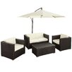 <strong>Concord 5 Piece Deep Seating Group with Cushions</strong> by Modway