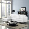 Modway Princess Right Chaise Sectional Sofa