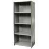 "Hallowell Hi-Tech Free Standing 87"" H Five Shelf Shelving Unit"