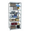 "Hallowell Hi-Tech Extra Heavy-Duty Open Type 87"" H 8 Shelf Shelving Unit Starter"