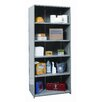 "Hi-Tech Medium-Duty Closed Type 87"" H 6 Shelf Shelving Unit Starter"