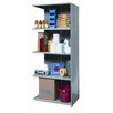 "Hi-Tech Medium-Duty Closed Type 87"" H 4 Shelf Shelving Unit Add-on"