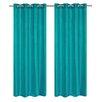 LJ Home Silkana Grommet Curtain Panel (Set of 2)