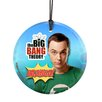<strong>Big Bang Theory (Bazinga) Star Fire Prints Hanging Glass Wall Décor</strong> by Trend Setters