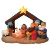 <strong>BZB Goods</strong> Christmas Inflatable Nativity Scene Under Stable Decoration
