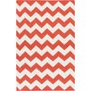 Artistic Weavers York Red Chevron Pheobe Area Rug