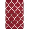 Artistic Weavers York Red Geometric Mallory Area Rug