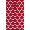 Artistic Weavers Vogue Red & Off White Geometric Everly Area Rug
