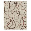 Xara Design Brown, Hand-Knotted Rug