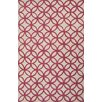 Jaipur Rugs Blithe Red/Taupe Geometric Area Rug