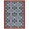 Jaipur Rugs Anatolia Tribal Blue/Red  Area Rug