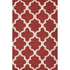 Jaipur Rugs City Red / Ivory Geometric Area Rug