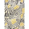 Jaipur Rugs Yellow/Gray Abstract Indoor/Outdoor Area Rug