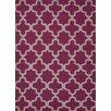 Jaipur Rugs Maroc Geometric Medium Magenta Area Rug