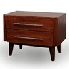 JS@home Green Bay Road 2 Drawer Nightstand