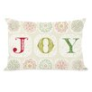 One Bella Casa Holiday Boho Joy Pillow