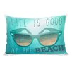 One Bella Casa At the Beach Pillow