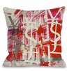 One Bella Casa Tokyo Fashion Connection Pillow