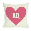 One Bella Casa XO with Heart Pillow