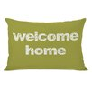 One Bella Casa Welcome Home Pillow