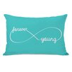 One Bella Casa Infinite Forever Young Pillow