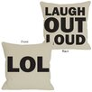 One Bella Casa LOL Reversible Pillow